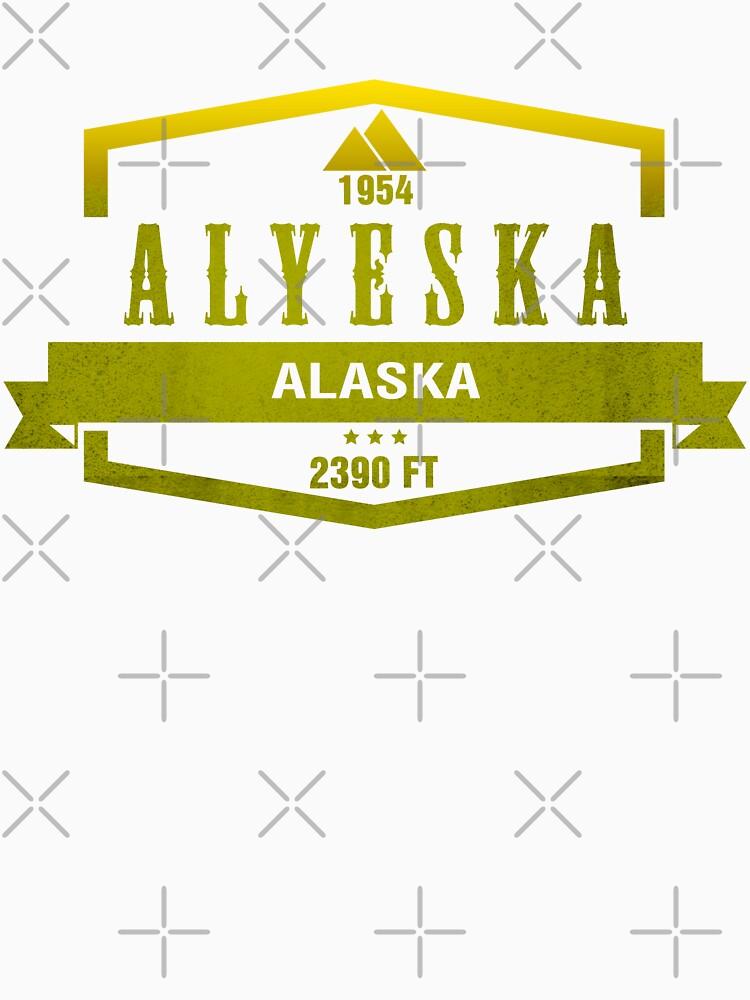 Alyeska Ski Resort Alaska by CarbonClothing