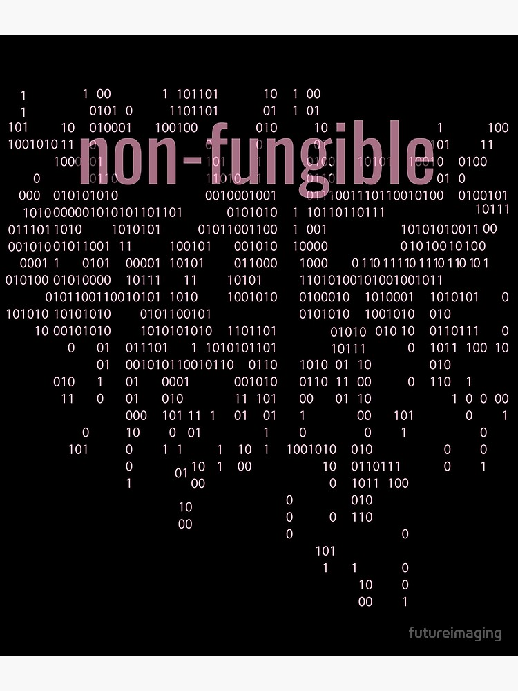 Non-Fungible crypto Pink by futureimaging