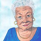 Maya Angelou, A Phenomenal Woman by PersonalGenius
