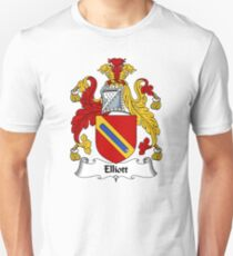 Elliott Coat of Arms / Elliott Family Crest T-Shirt