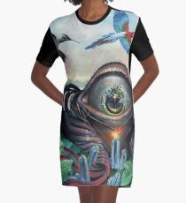 The Peak Graphic T-Shirt Dress