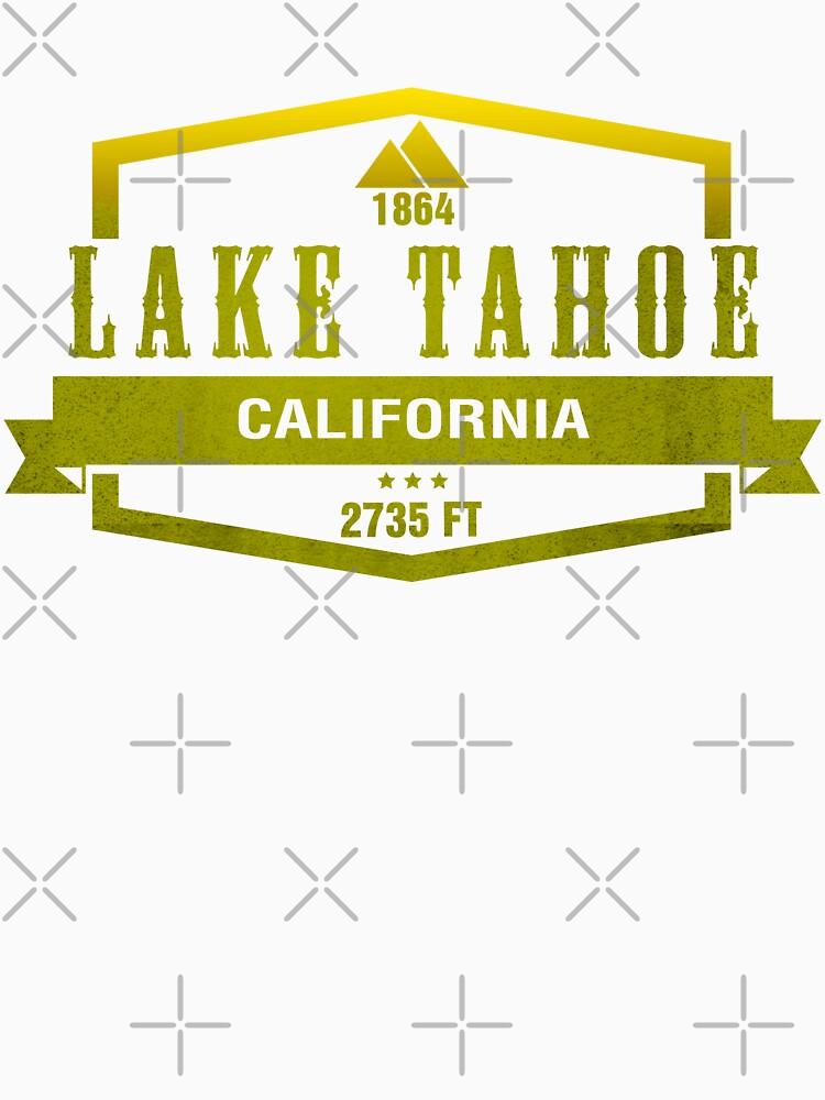 Lake Tahoe Ski Resort California by CarbonClothing