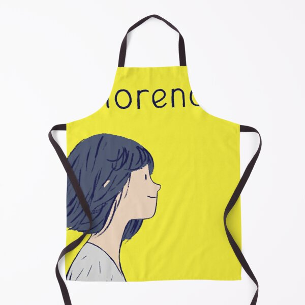 Florence Poster  Apron
