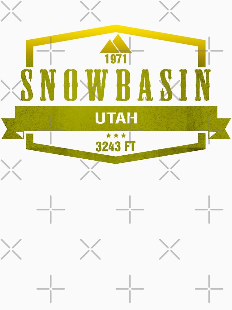 Snowbasin Ski Resort Utah by CarbonClothing