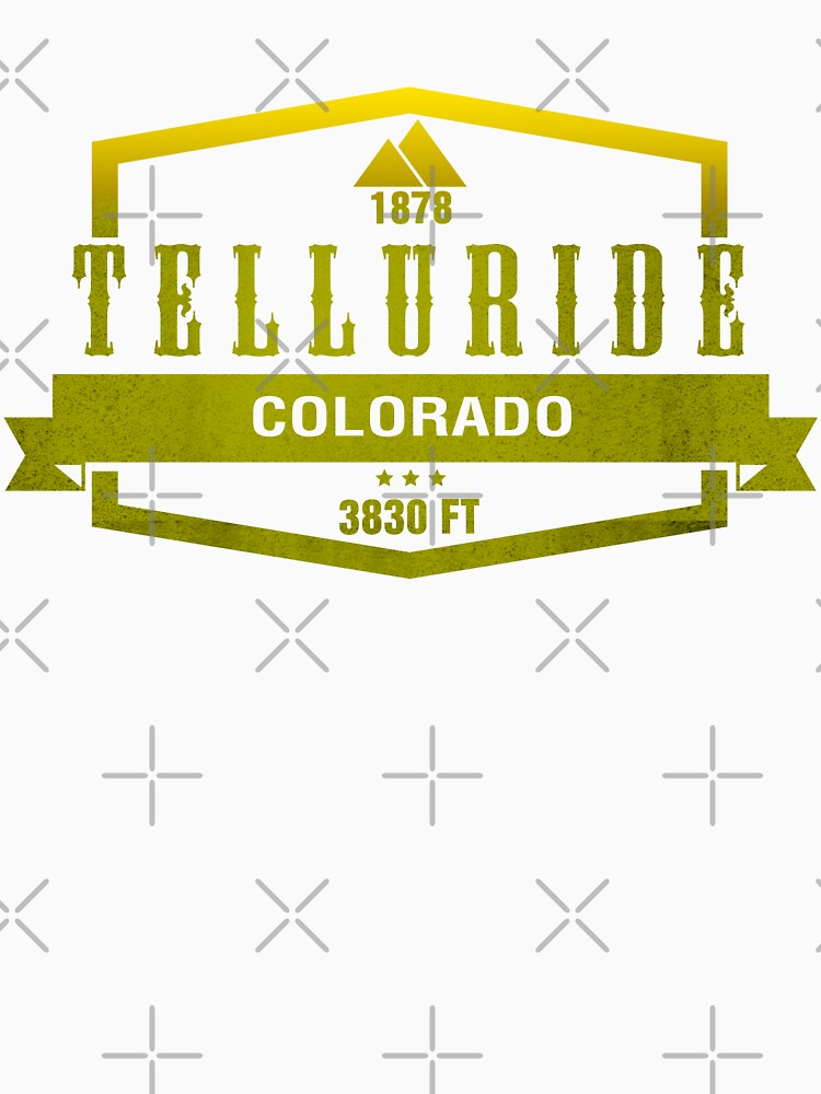 Telluride Ski Resort Shirts, hoodies and stickers. by CarbonClothing