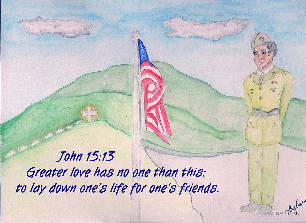 For our Fallen Soldiers by Anne Gitto
