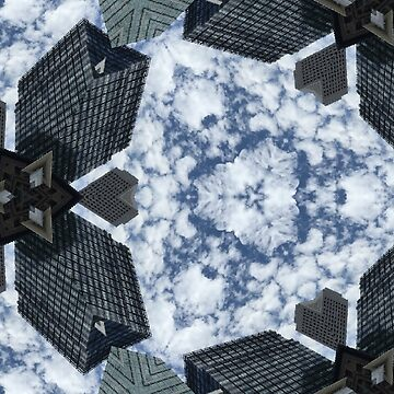 Cloudy Skyscrapers by JNathan