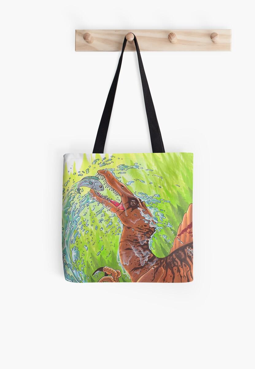 Spinosaurus by gurukitty