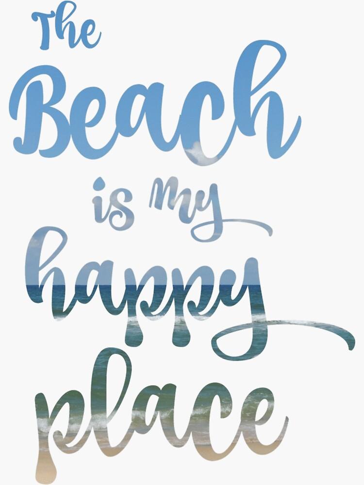 Tipografía Beach Happy Place de motivateme