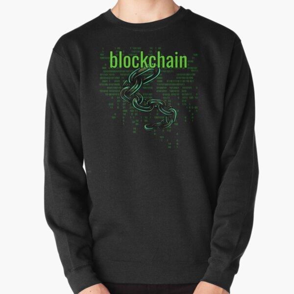BlockChain Digital Green Pullover Sweatshirt