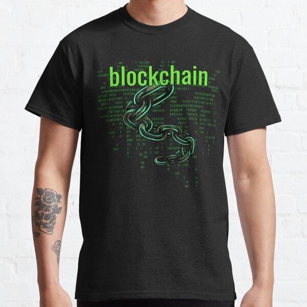 BlockChain Digital Green Classic T-Shirt