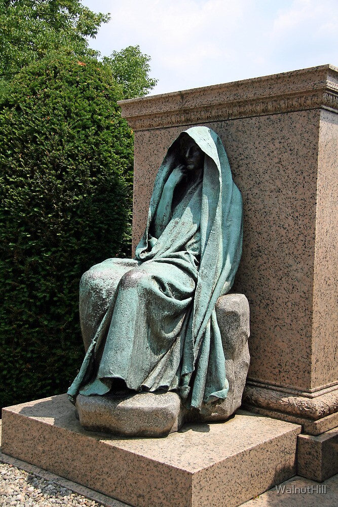 The  Adams Memorial - Grief by WalnutHill