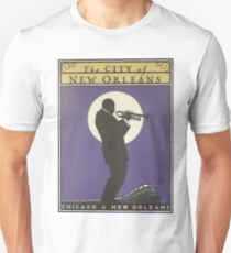 Vintage poster - City of New Orleans Unisex T-Shirt