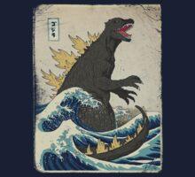 The Great Godzilla off Kanagawa | Unisex T-Shirt