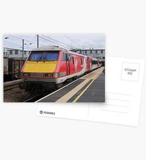 Virgin Trains East Coast 91108 at Peterborough Postcards