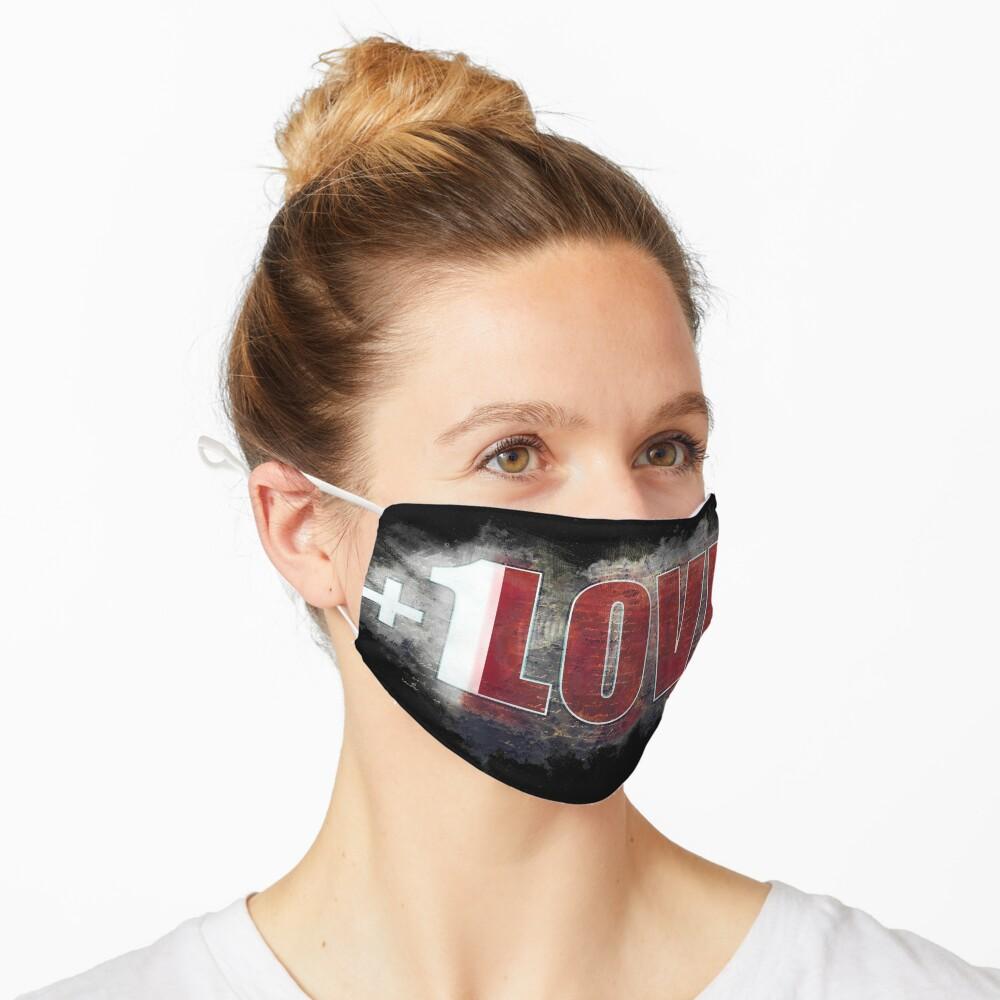 +1 LOVE mystery Mask