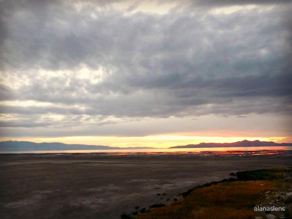 salty sunset by alanaslens