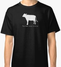 Cow Level-White Classic T-Shirt