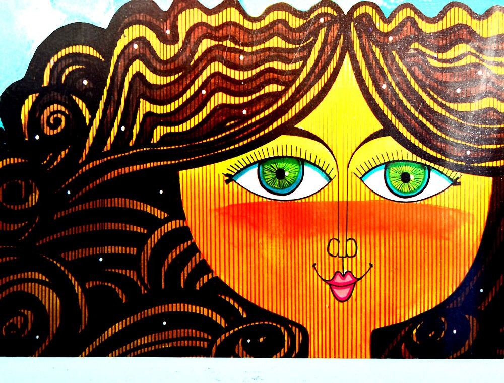 Curls in the Wind by LiaBernini