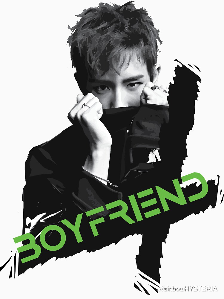 OBSESSION / Minwoo BOYFRIEND by RainbowHYSTERIA