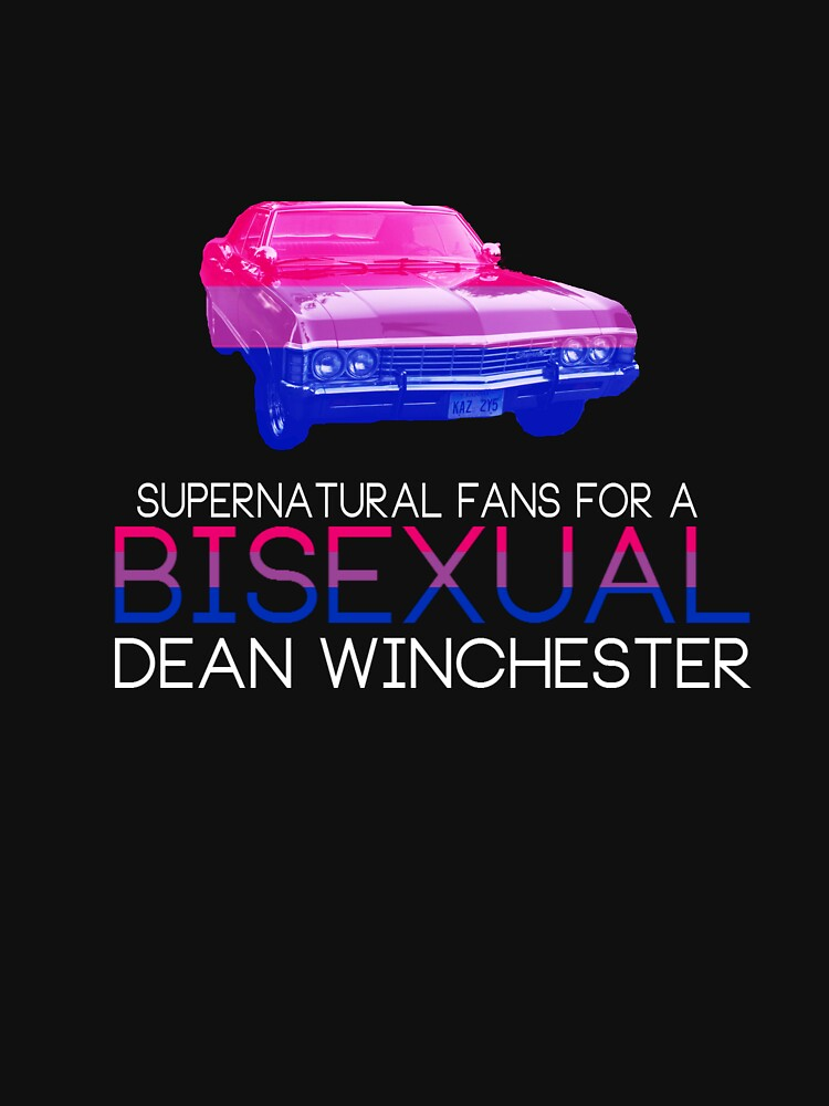 Support Bisexual Dean (white text) by sarcasmlock
