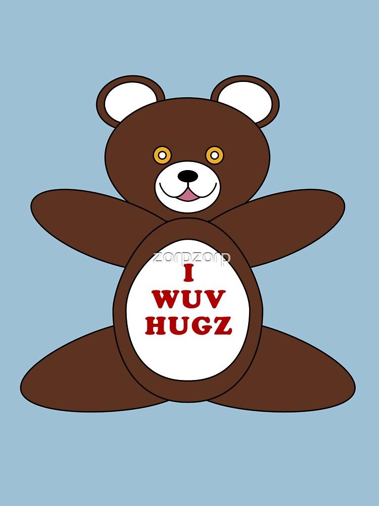 I Wuv Hugz | Unisex T-Shirt