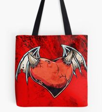 Evil Heart Tote Bag