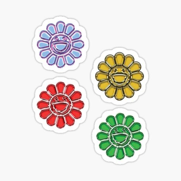Murakami flower Sticker