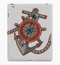 Anchor BW iPad Case/Skin