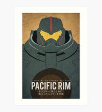 Pacific Rim Minimalist Art Print