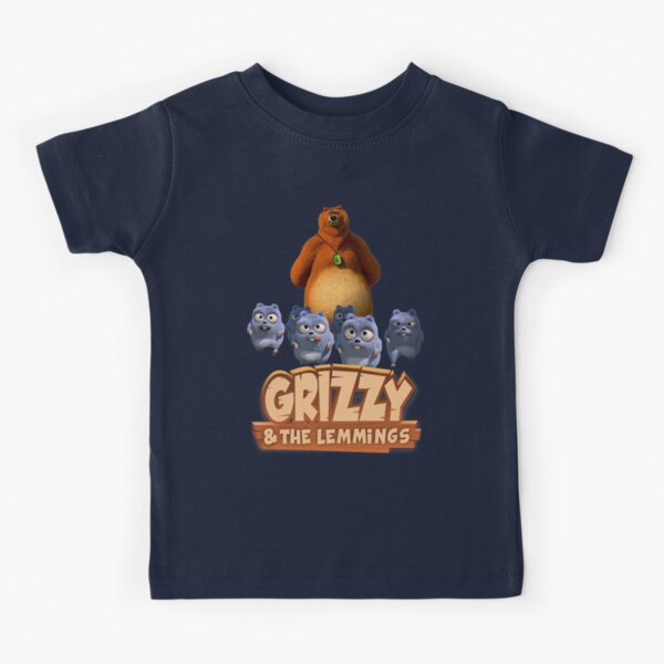 Grizzy And The Lemmings Toddler funny kids Kids T-Shirt