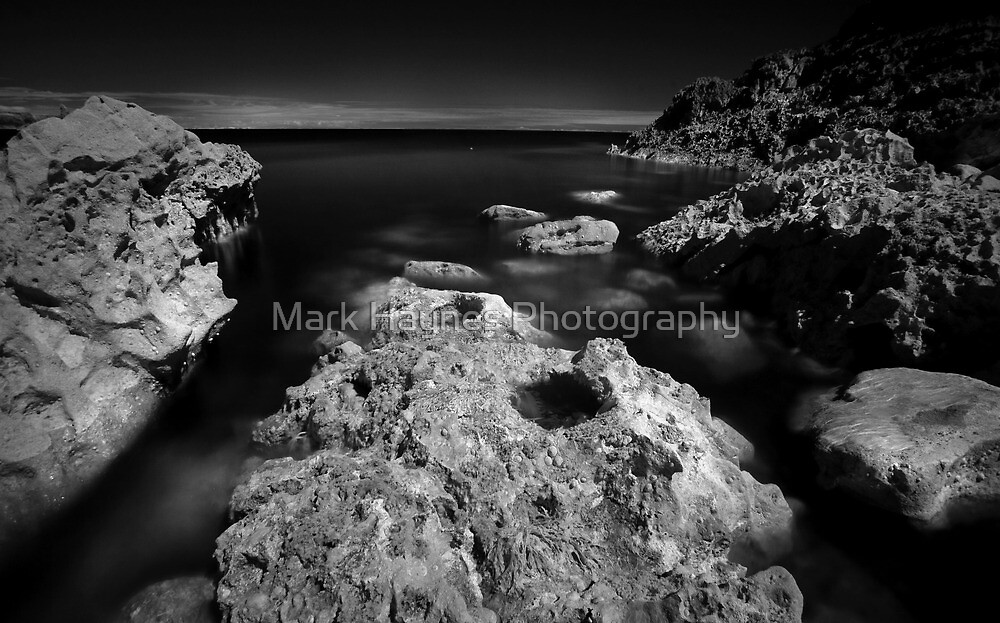The Rock - Infra Red Sea by Mark Haynes Photography