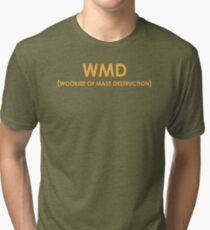WMD - Wookiee of Mass Destruction Tri-blend T-Shirt