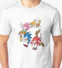 Classic Sonic Team Unisex T-Shirt