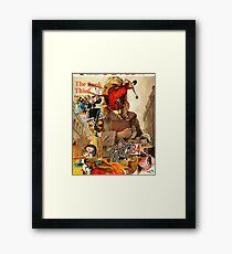 Book Thief. Framed Print