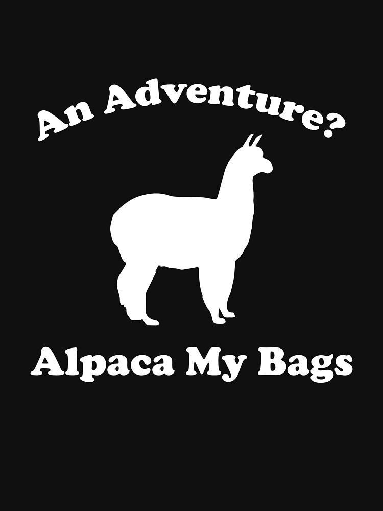 An Adventure? Alpaca My Bags. by DesignFactoryD