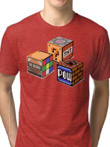 Geeky Cubes Tri-blend T-Shirt