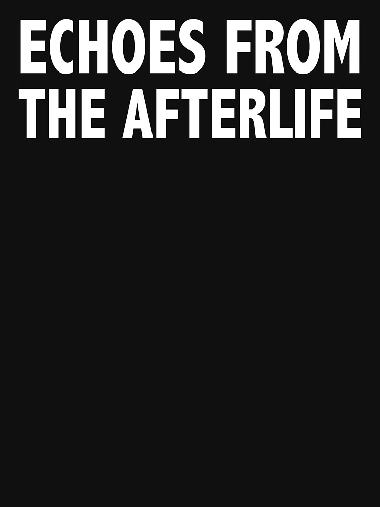 ECHOES FROM THE AFTERLIFE by lyricallyinclin