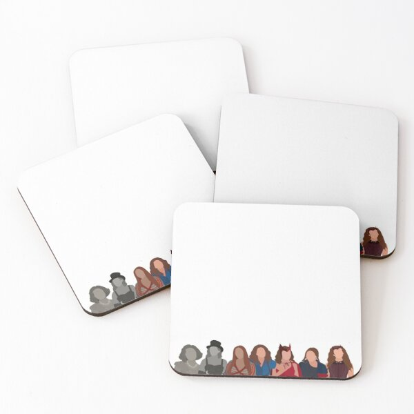 eras of wanda  Coasters (Set of 4)