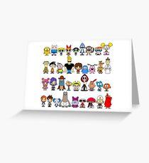 Cartoon Network Greeting Card