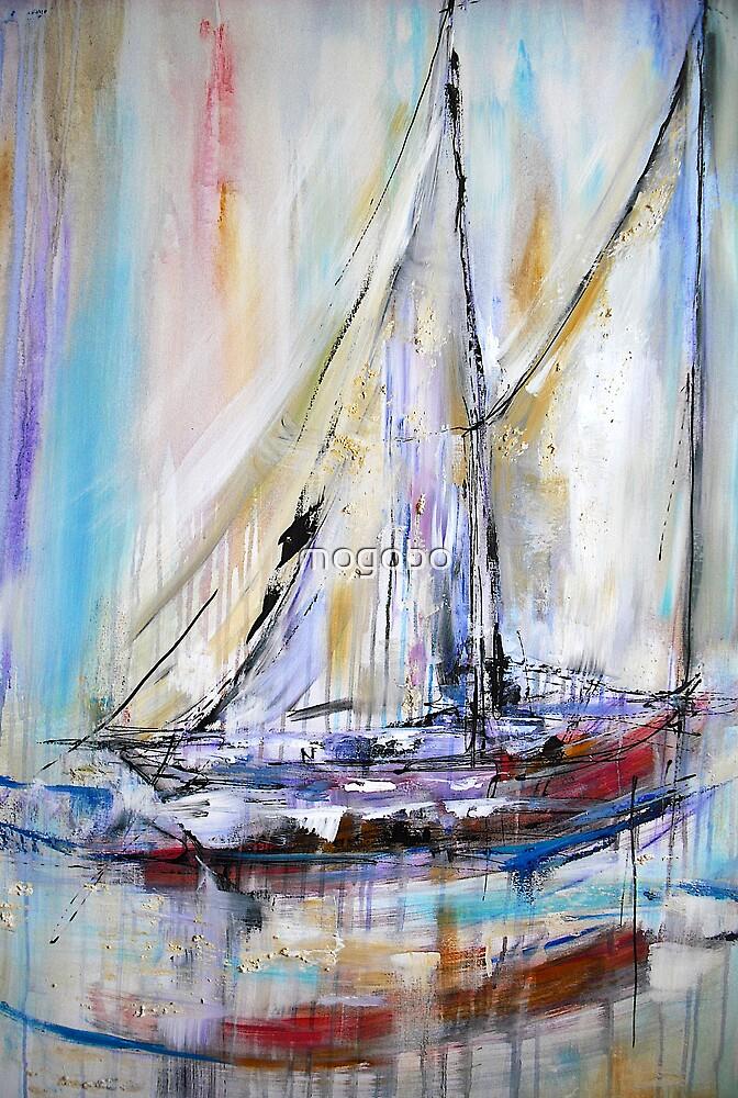 Light Sailing - Colored Seas II by mogobo