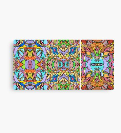 Psychedelic  Pattern Canvas Print