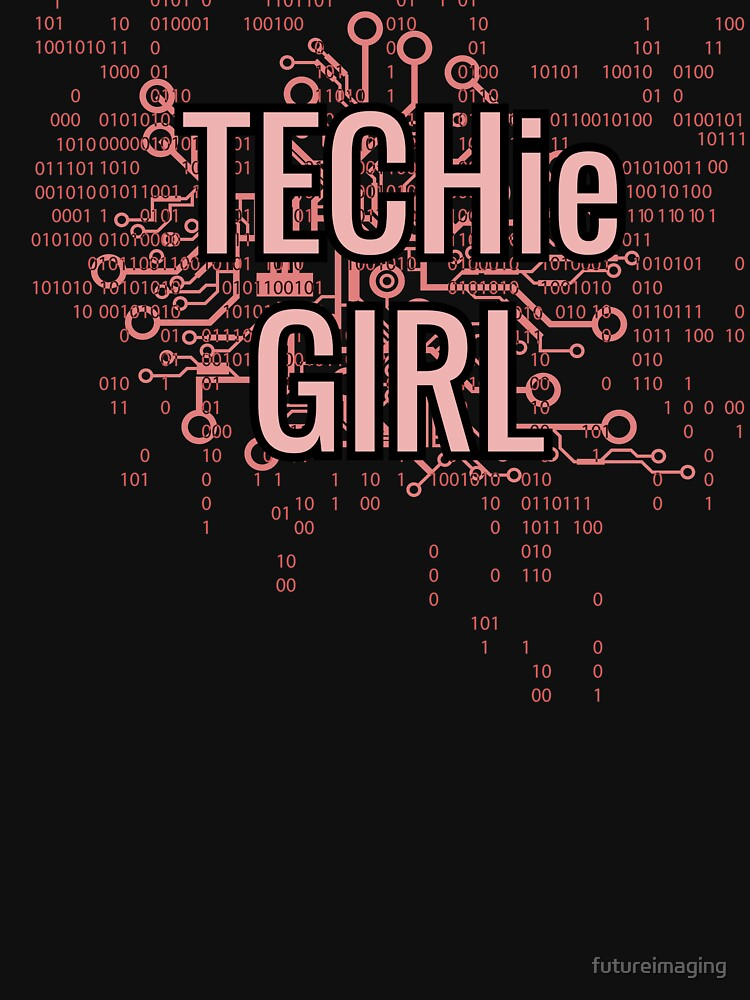 TECHie GIRL Cyber Pink by futureimaging
