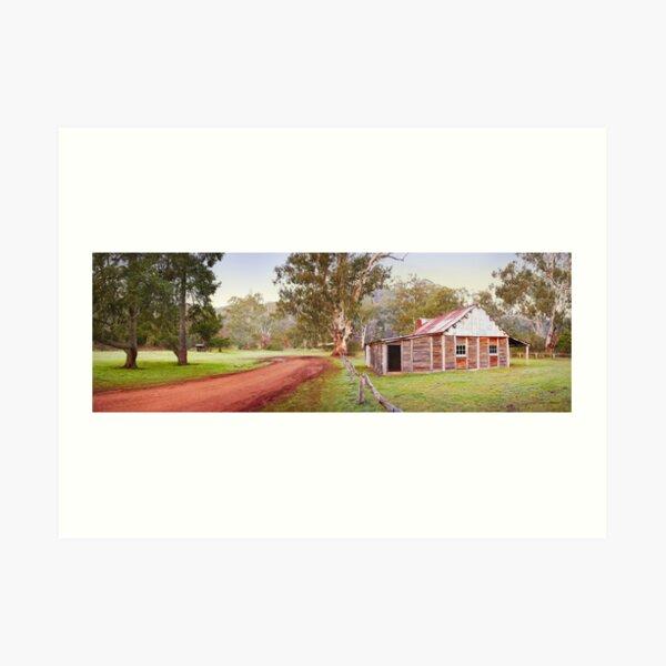 Frys Hut, Howqua Hills, Mansfield, Victoria Art Print