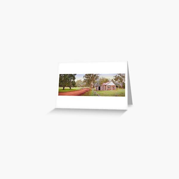 Frys Hut, Howqua Hills, Mansfield, Victoria Greeting Card