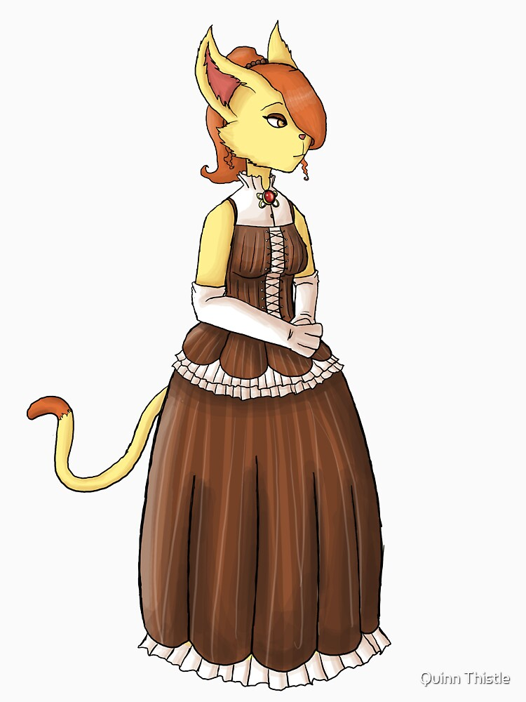 Elegant Steampunk Kitty by Middynighty