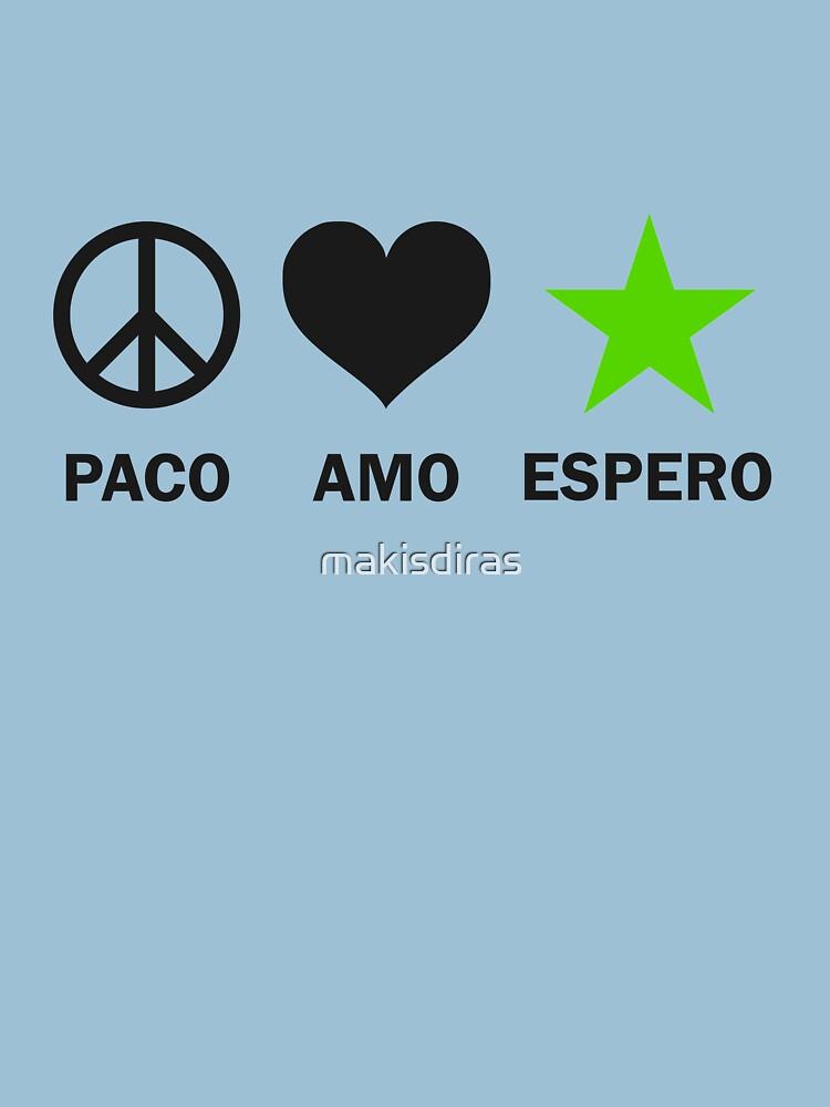 Paco, Amo, Espero - Nigra by makisdiras