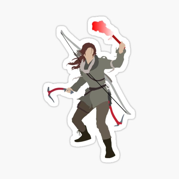Tomb Raider Sticker