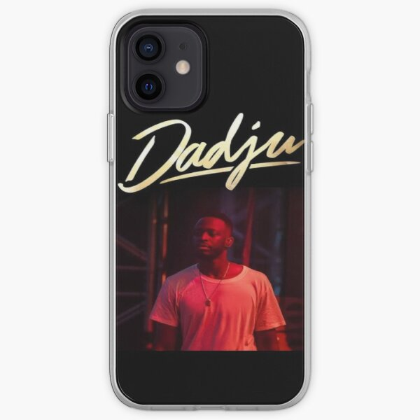 Dadju fashion Collection version unique rouge & jaune model classique Coque souple iPhone