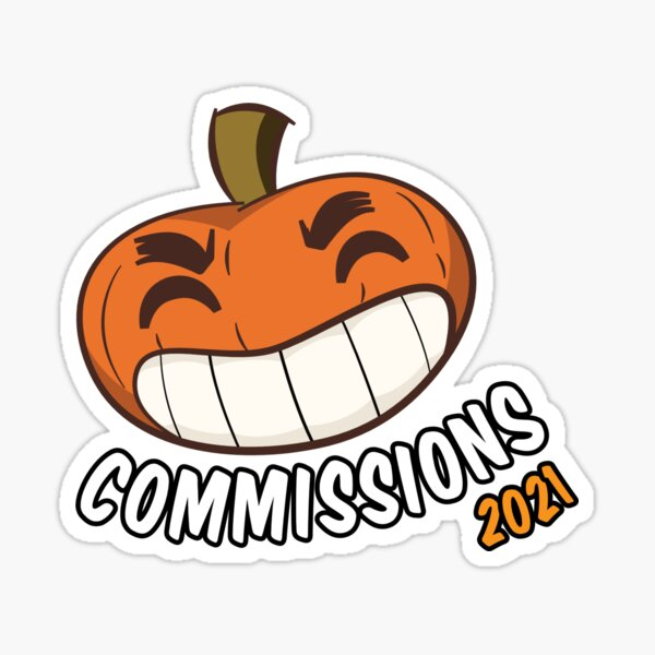 Commissions 2021 Sticker